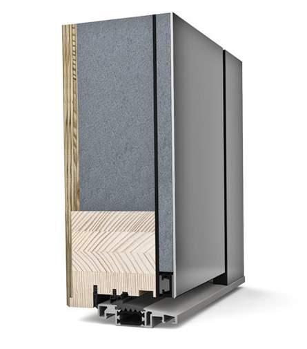 Timber-Aluminium Entrance Doors