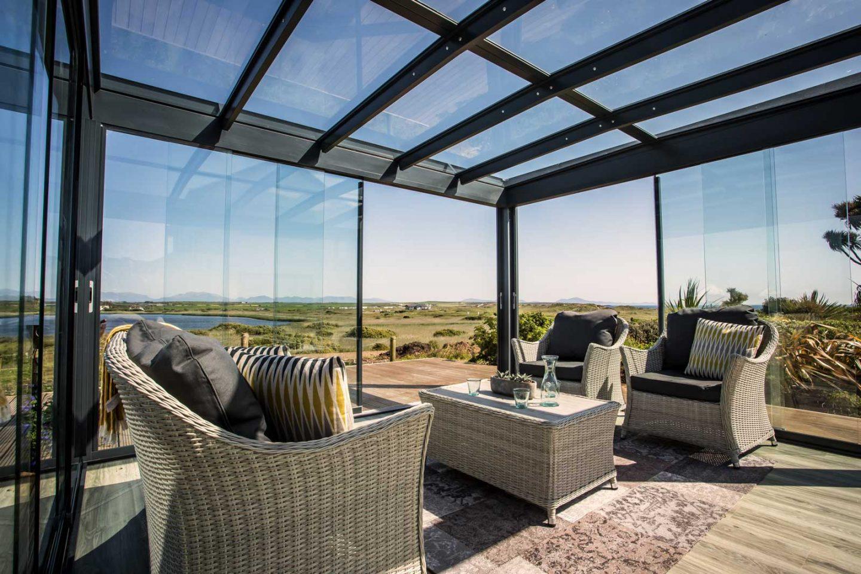 Glazed canopy Londonderry, Northern Ireland