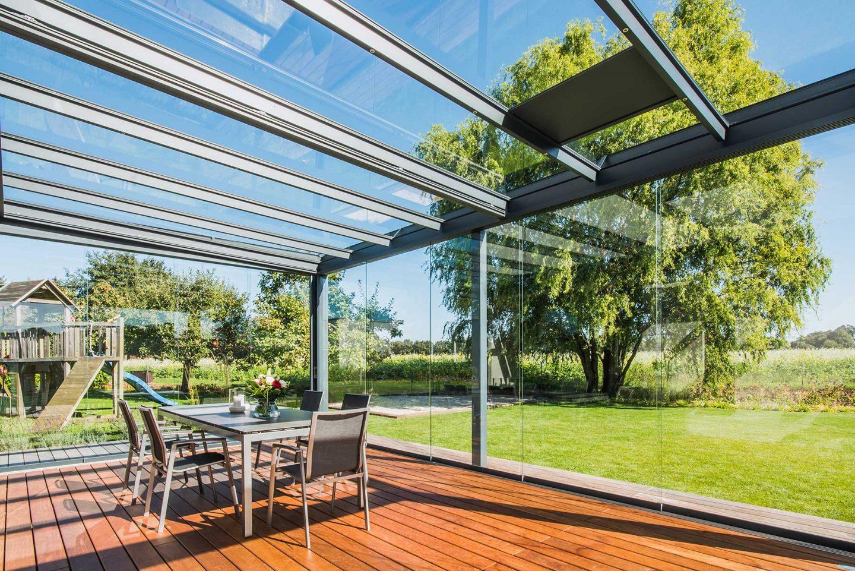 Triple glazed Glass Canopies, Coleraine, Northern Ireland