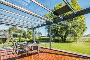 Triple glazed Glass Canopies, Londonderry, Northern Ireland