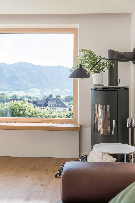 Timber-aluminium Internorm window Belfast