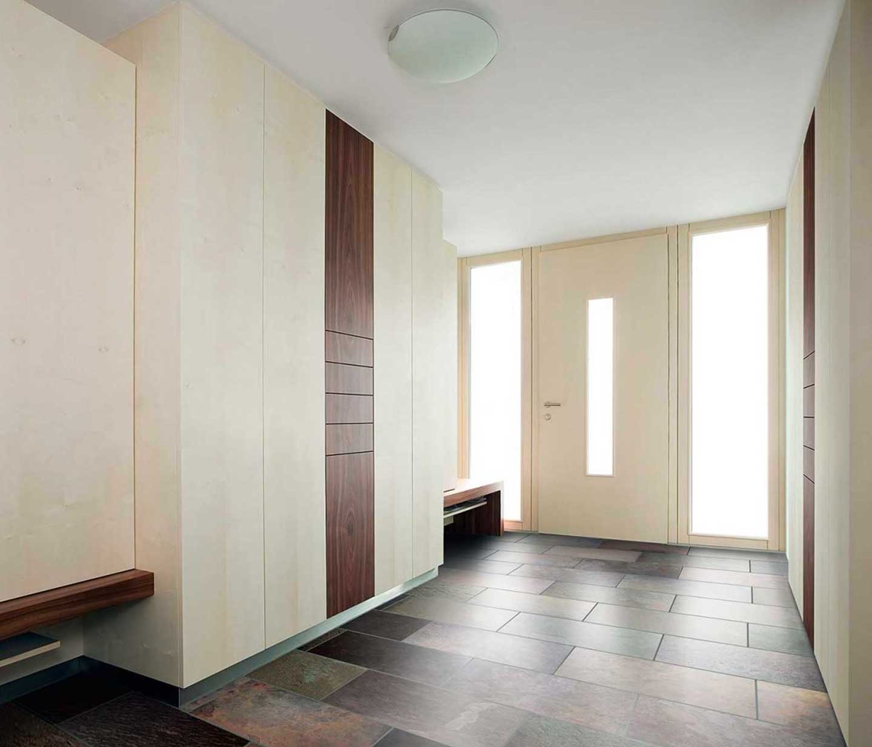 internorm timber-aluminium entrance door belfast