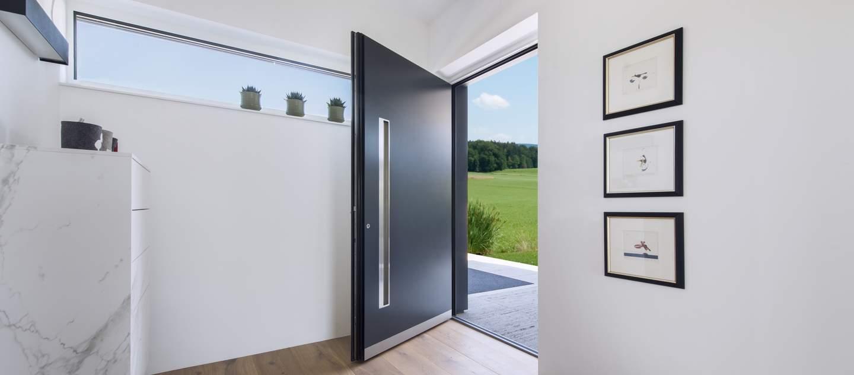 internorm aluminium entrance doors belfast