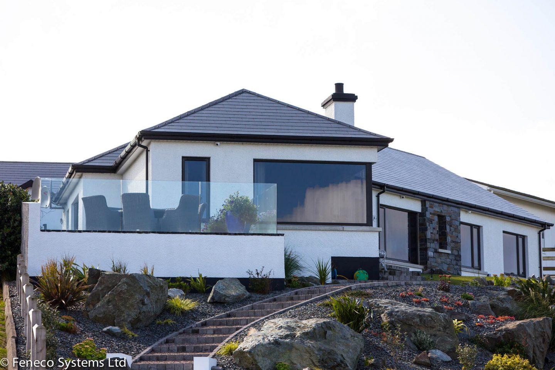 Exterior Frameless Glass Balustrades prices Northern Ireland
